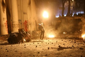 Истинные мирные демонстранты на Майдане