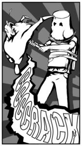 """Персонаж: Главный герой Детей Цитадели.Автор: Нина """"Ckpunka"""" Каваева."""